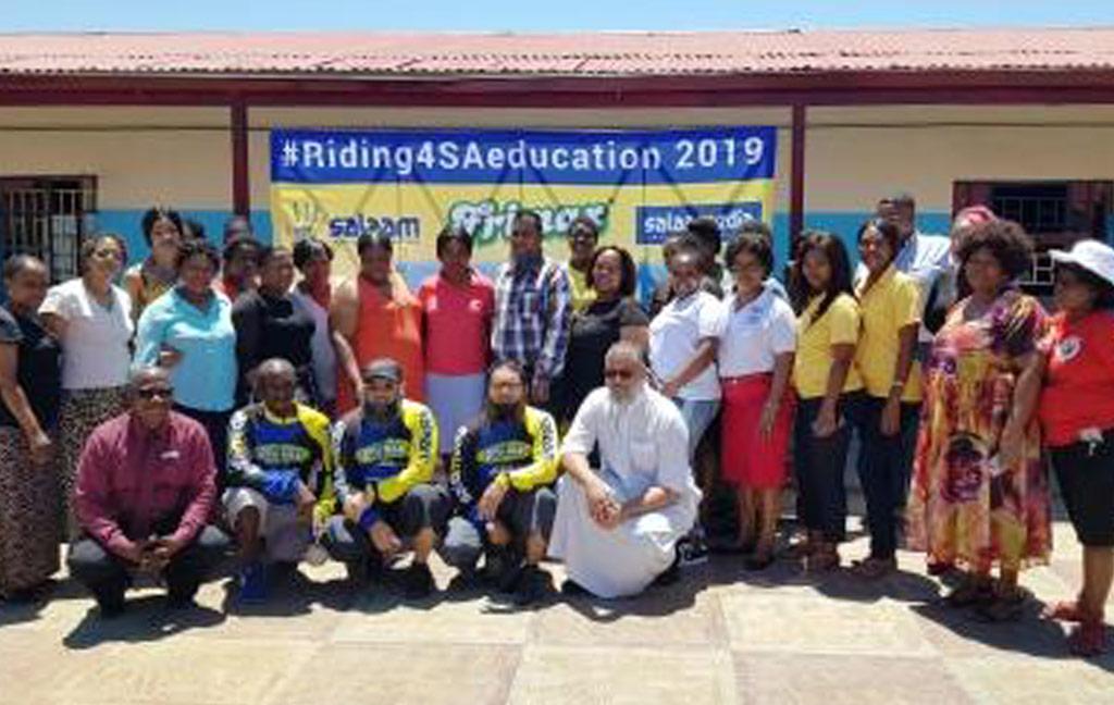 #Riding 4SAeducation 2019 brings hope to SA schools
