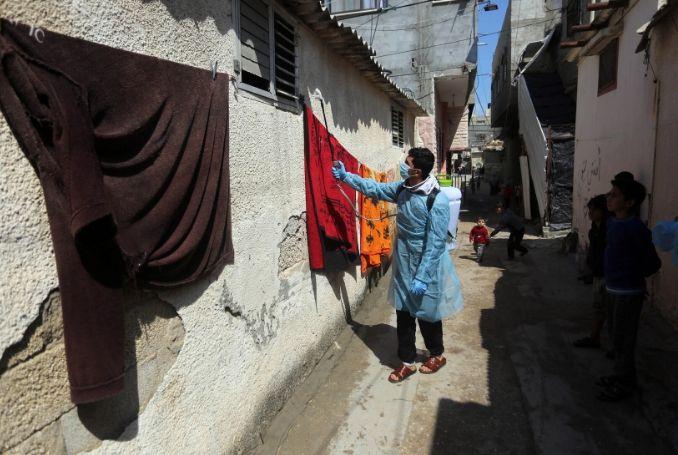 Gaza hygiene/food/shelter campaign